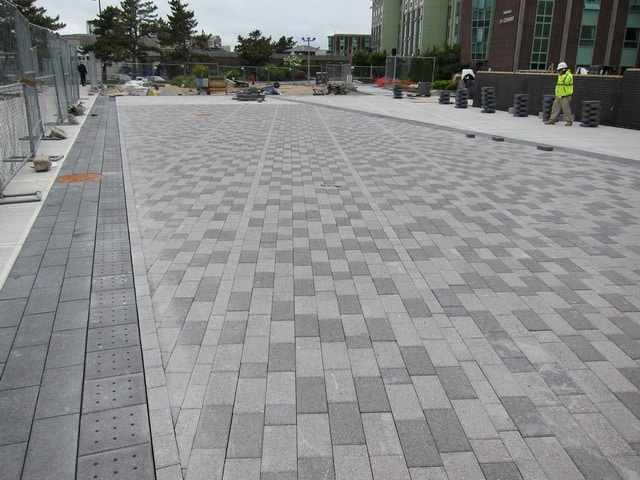 Permeable pavement cleaning 1 800 sweeper for Paving planner