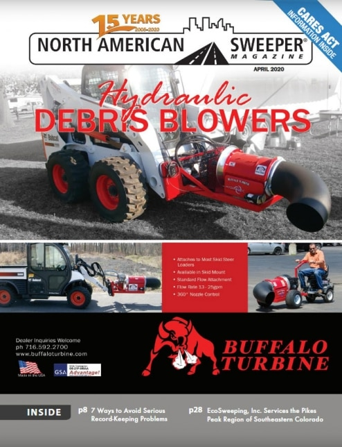 April 2020 issue of North American Sweeper