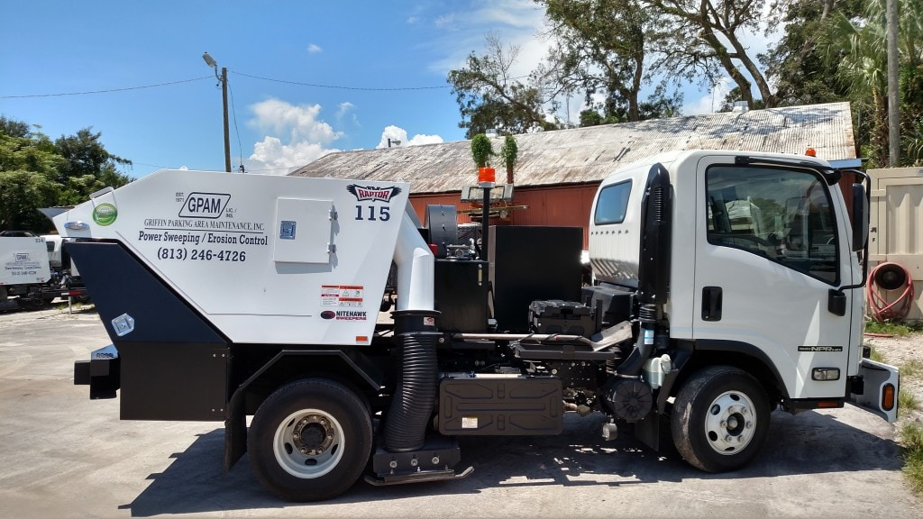 Sweeping Service in Tampa & Surrounding Areas 1