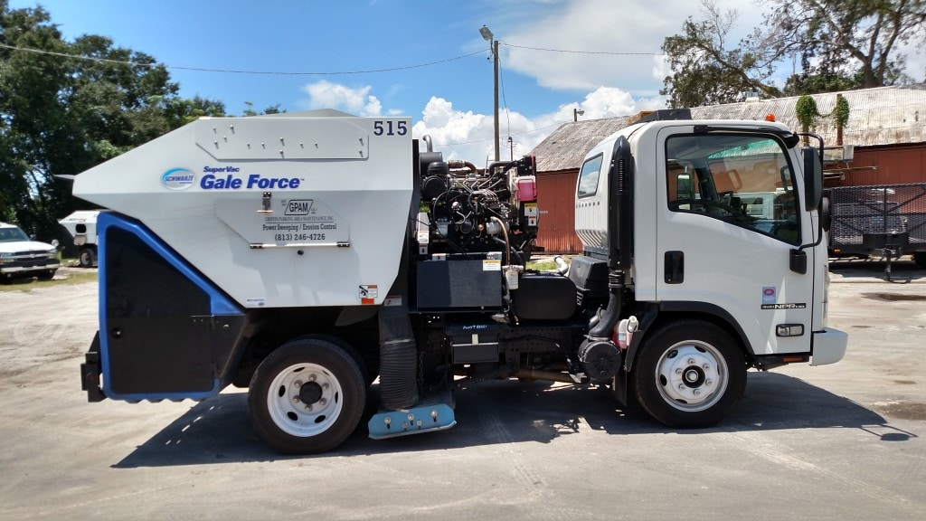 Sweeping Service in Tampa & Surrounding Areas 5
