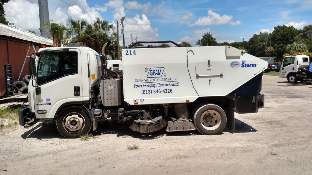 Sweeping Service in Tampa & Surrounding Areas 4