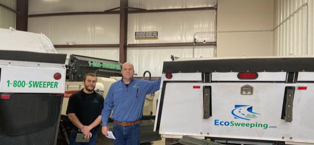 Mark and Sam Chamberlain of EcoSweeping Inc.
