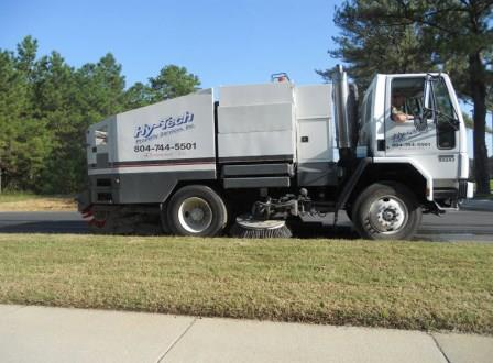 Sweeping Service in Arlington & Surrounding Areas 3