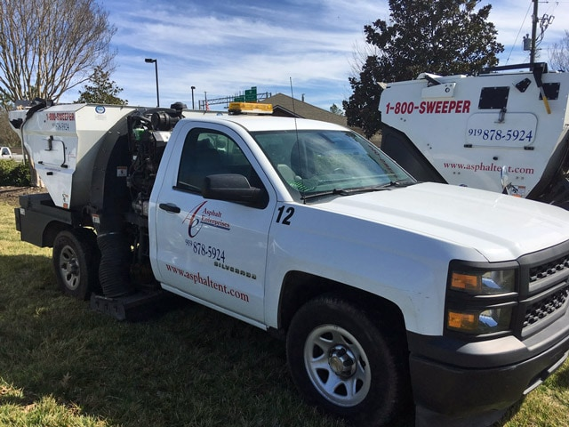 Sweeping Service in Greenville & Surrounding Areas 2