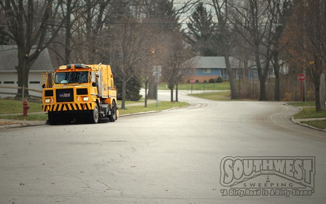 Sweeping Service in Cleveland & Surrounding Areas 2