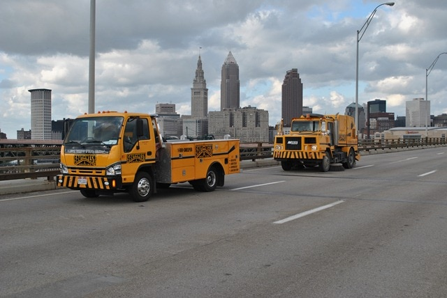 Sweeping Service in Cleveland & Surrounding Areas 1