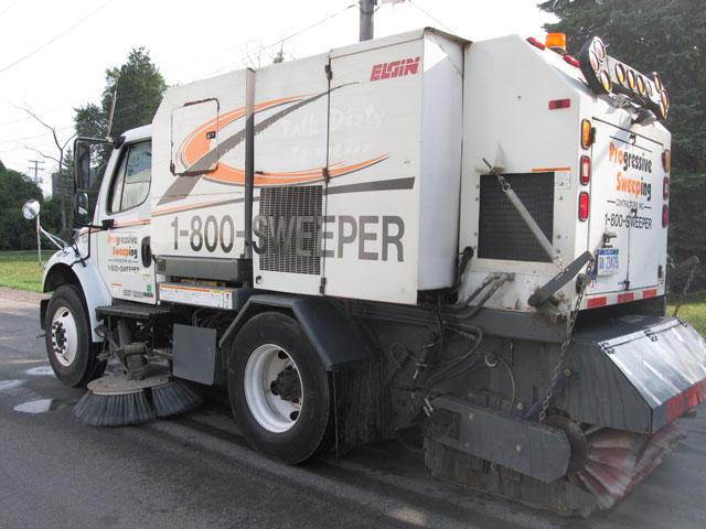 Flint Street Sweeping