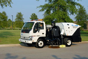 Sweeping Service in Evansville & Surrounding Areas 2