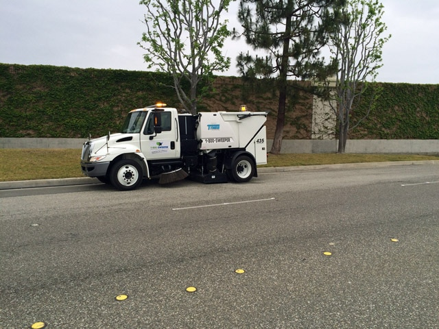 Sweeping Service in Anaheim & Surrounding Areas 2