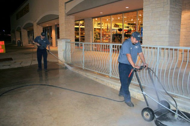 Sweeping Service in Austin & Surrounding Areas 2