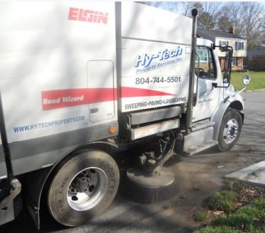 Sweeping Service in Richmond & Surrounding Areas 1