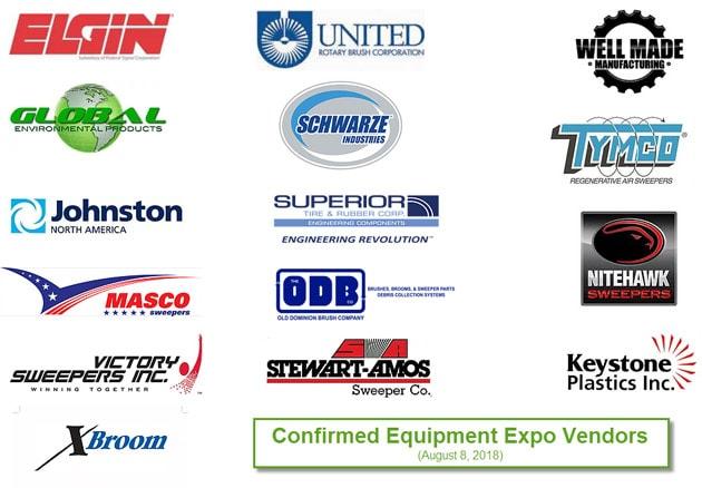 Sweeper Summit 2018 Vendors