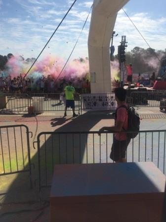 color run sweeping north carolina