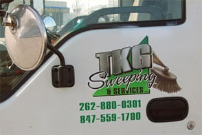 Sweeping Service in Waukegan & Surrounding Areas 1