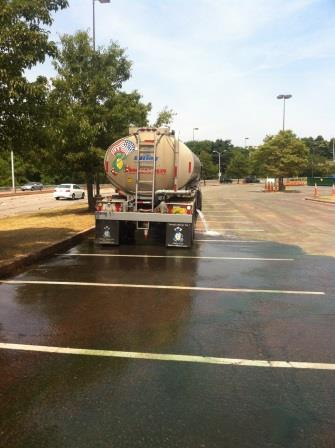 water truck service for color run